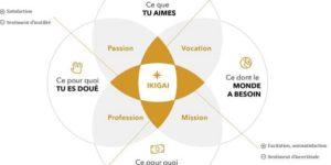 Méthode de l'Ikigai pour trouver un sens à votre vie